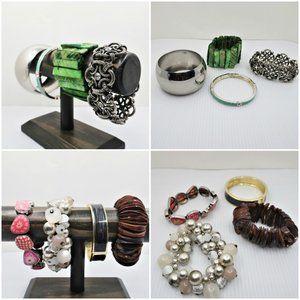 Eight Bracelets Various Colors & Styles